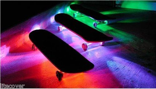 Sweet LED waterproof lights Etsy listing at http://www.etsy.com/listing/158281467/skateboard-battery-powered-led