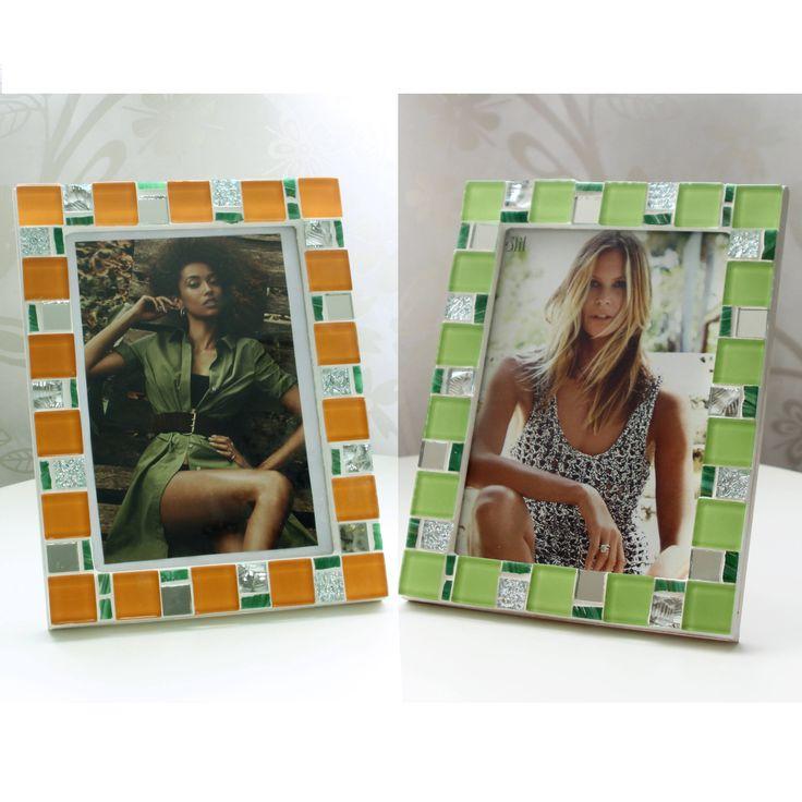Gift set - Set of 2 frames - Gift set for her - Gift for women - Gift for couple - Frame set - Gift sets for women - Girlfriend gift by MartelMosaic on Etsy