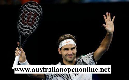 Noah Rubin vs Roger Federer live