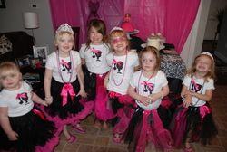 Ainsley's 6th Birthday Party  Birthday - Vintage Barbie Makeover Party