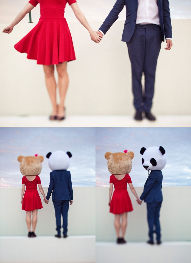 Panda head lovers.