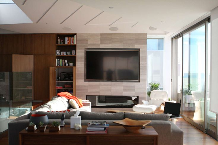 Ventura beach house living room complete media and entertainment system. House Ideas. Home Automation