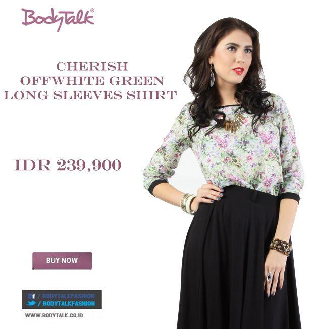 Kemeja motif bunga ini pas buat kamu office ladies IDR 239,900 >> http://ow.ly/vjO7u