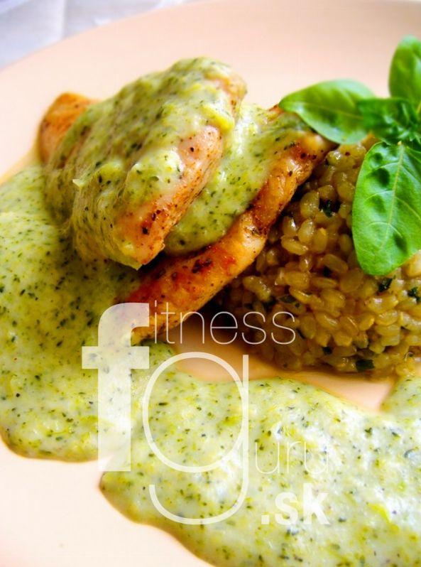 Kuracie prsia s brokolicovou omáčkou