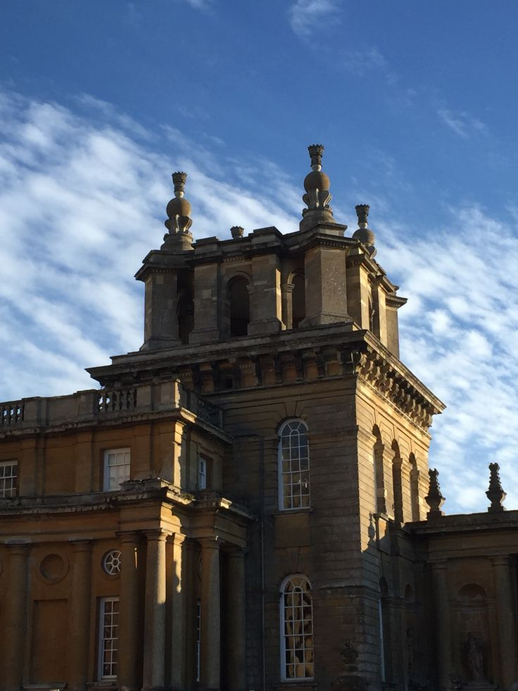 15 best images about castles and stately homes on for Blenheim builders