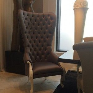 oversized jubilee chair in graphite grey and alpina white excellent for host dining chairs