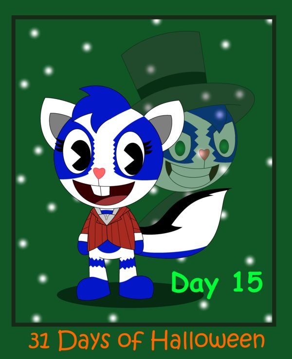 31 Days of Halloween - Day 15 by AnimalComic96 on deviantART