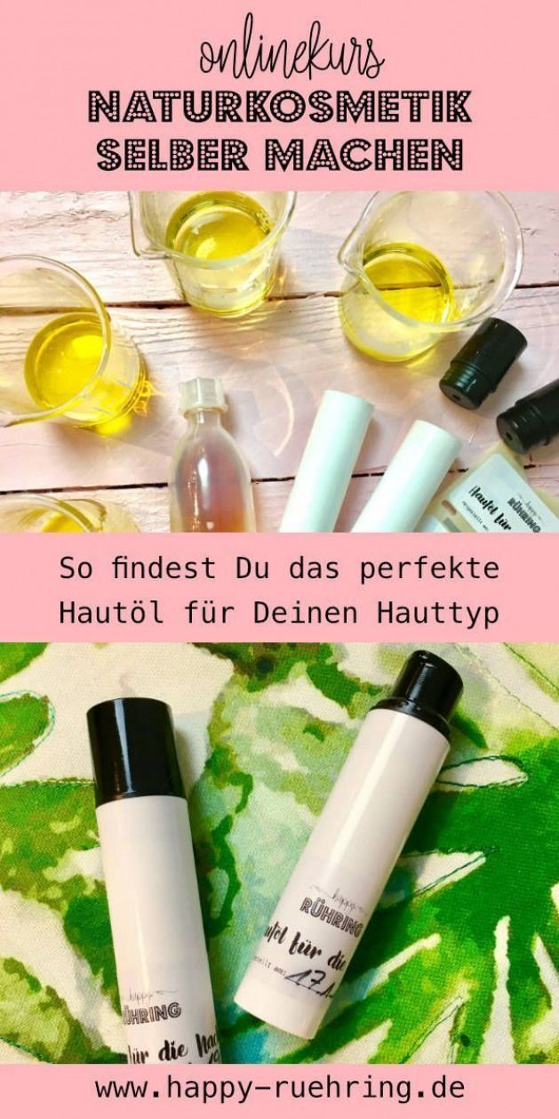 How to make a skin suitable for your skin type and above all how to make your skin ...  -  Hautpflege-Rezepte