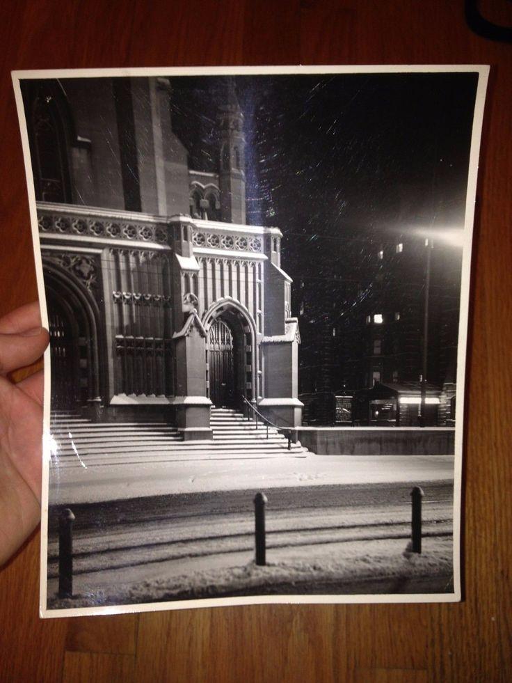 Arthur Gray Original Iconic Clevland Ohio Church WPA Original Photograph WOW | eBay