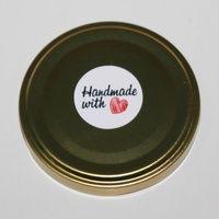 label produk sticker produk handmade with love sen