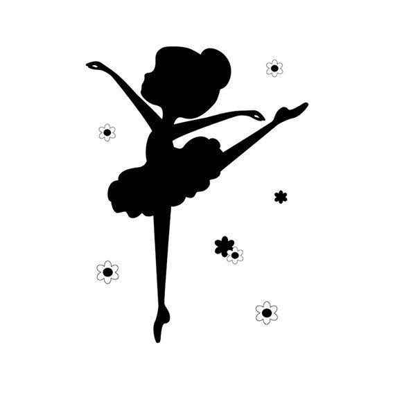 Выкройки открыток с балериной