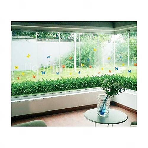 Wall Stickers Wall Decals, Style Small Grass PVC Wall Stickers 2697653 2016 –…