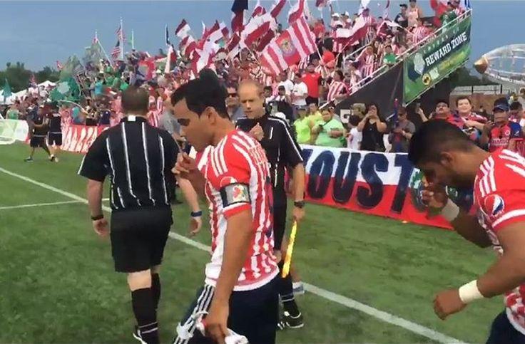 CHIVAS DERROTÓ A ENERGY FC EN PARTIDO AMISTOSO Con gol de Omar Bravo, Guadalajara consiguio su primera victoria en territorio americano ante el Energy FC de Oklahoma.