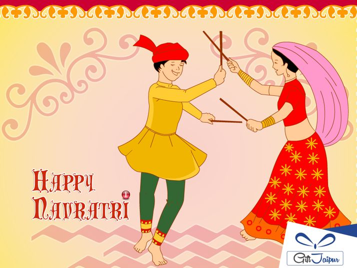 May this Navratri brighten up your life with joy, wealth, and good health.Happy #Navratri.