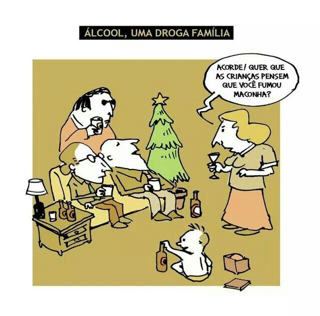 Álcool, uma droga família