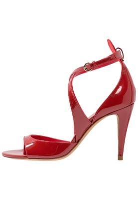 Sandaler med høye hæler - red