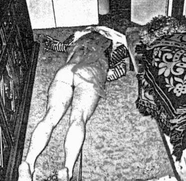 Crime Scene Photo Of Rosemary LaBianca