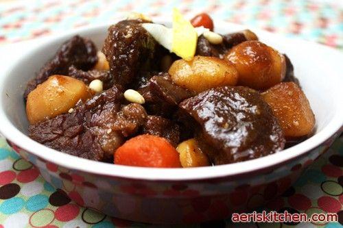 SoGalBi Jjim from Aeri's Kitchen blog. Great stuff here if you love Korean food like me!!