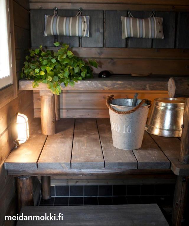 Perinteinen suomalainen sauna
