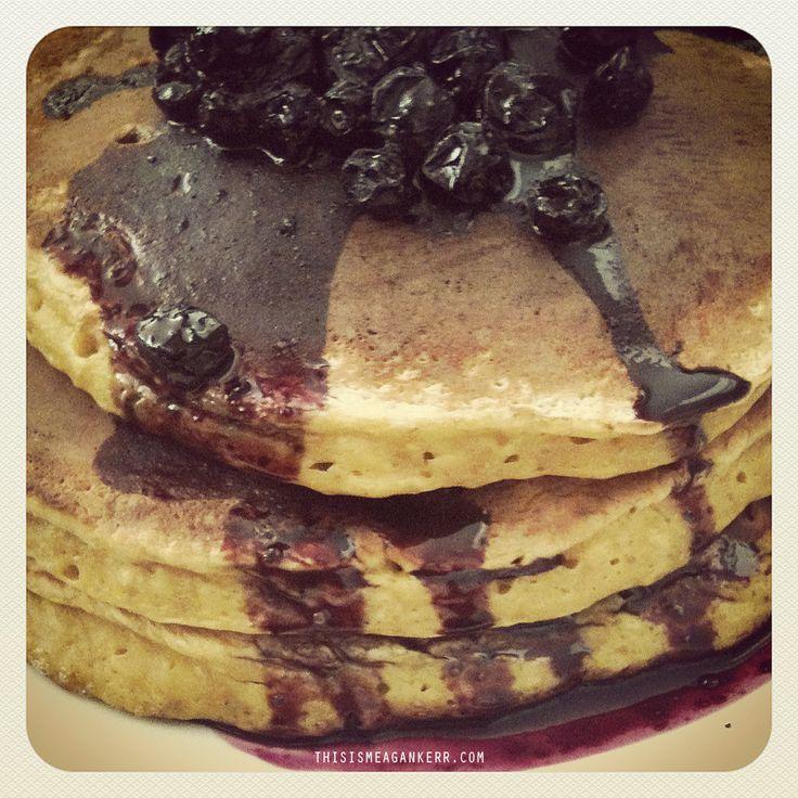 Pumpkin Pancakes - Amazing!