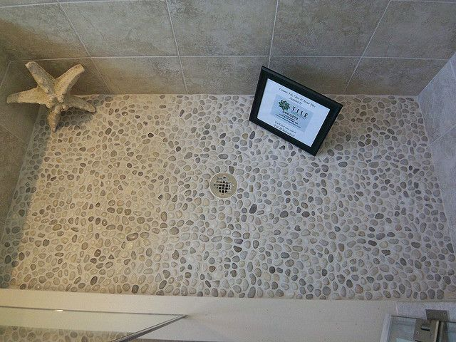 pebble shower flloor | pebble shower floor | Flickr - Photo Sharing!