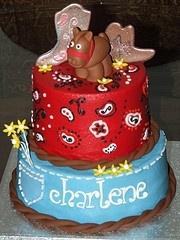 Cowboy cake for Tarron?