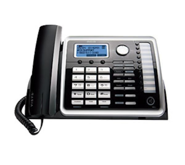 Rca 25260 2 Line Corded Expandable Accessory Desk Phone Caller Id Cwcid