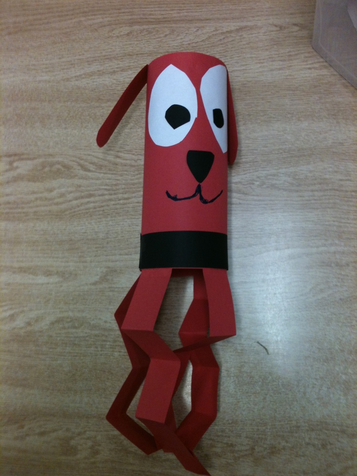 Clifford the Big Red Dog Wind Socks. | Class Craftiness ...