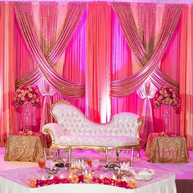 97 best indian wedding ideas images on pinterest indian weddings wedding receptions wedding backdrops stage backdrops chic wedding wedding decor wedding ideas bridal decoration fabric junglespirit Choice Image