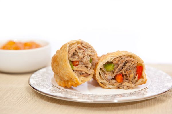 ... including pulled pork and curry chicken can be located at kiosk F02