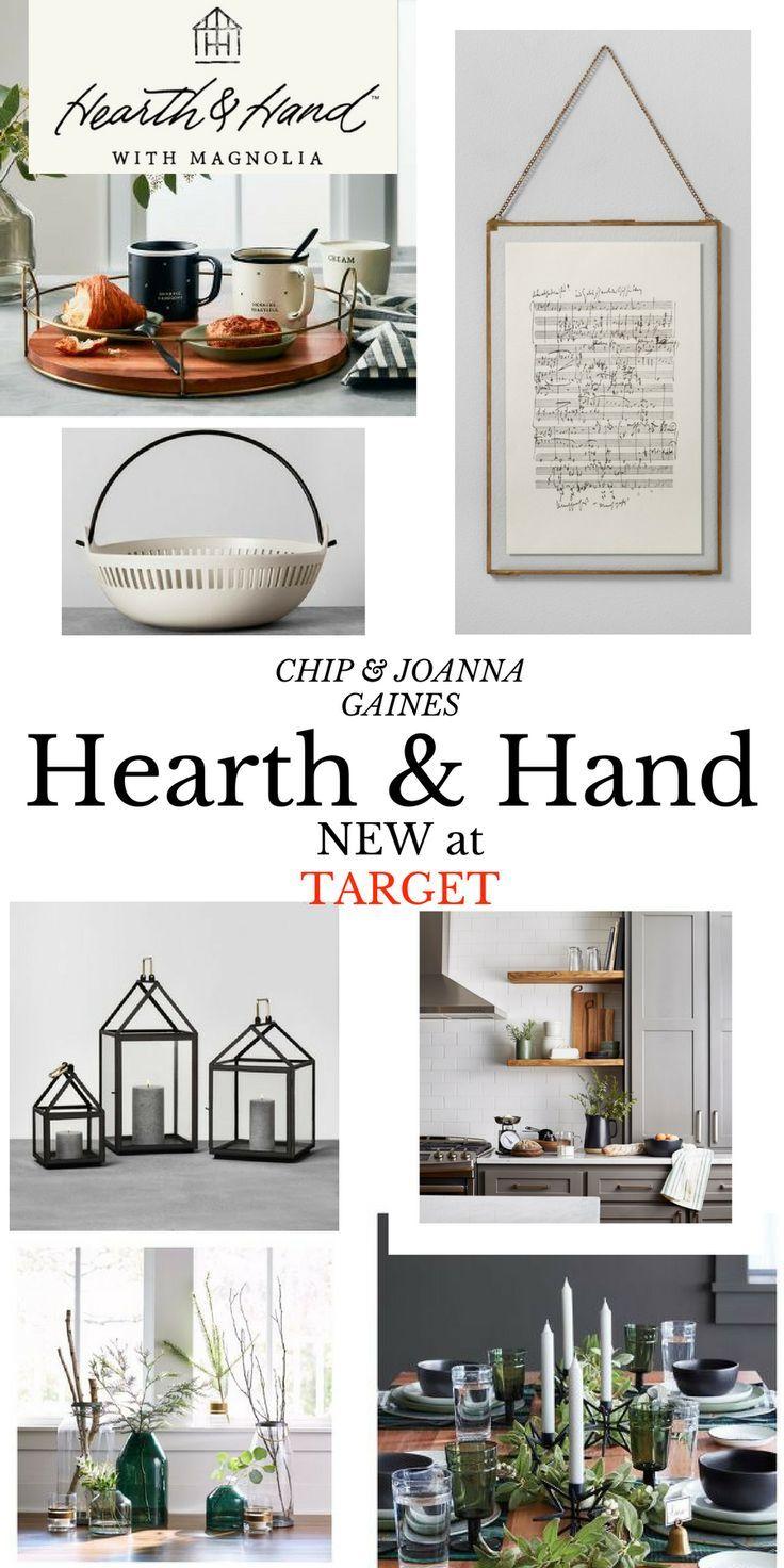 New Hearth & Hand with Magnolia line at Target by Chip