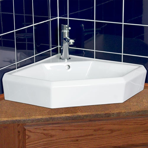 Danica Corner Vessel Sink Unique Bathroom Decor Pinterest Products Sinks And Vessel Sink