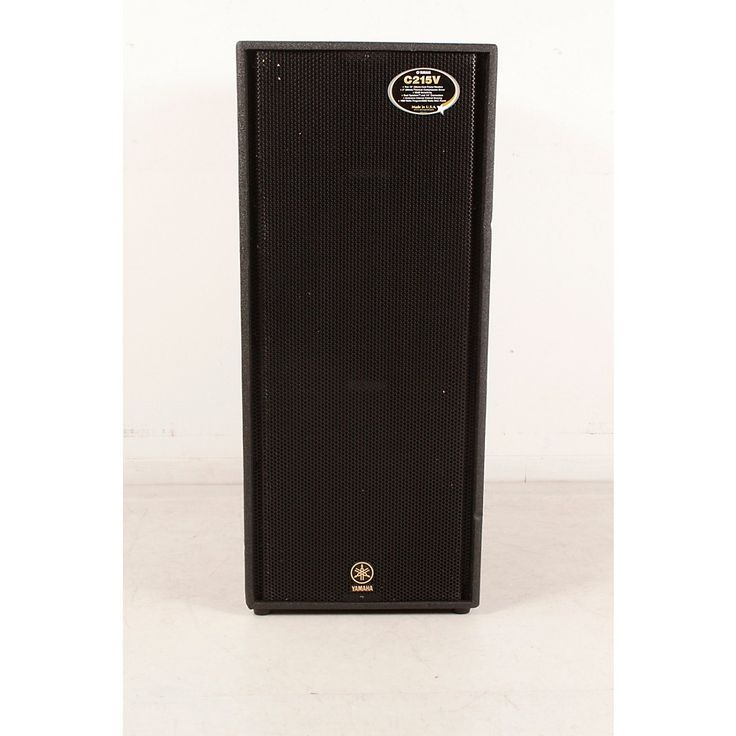 "Yamaha C215V Dual 15"" Club Concert Speaker Cab Regular 888366056615"