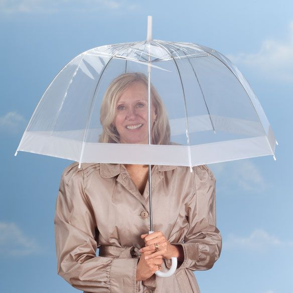 Clear Dome Umbrella - Zoom