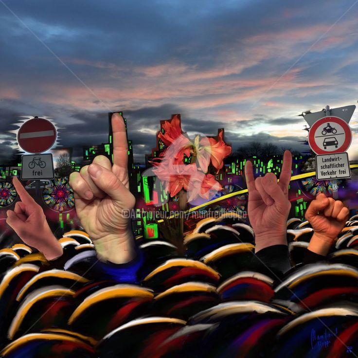 Demo mal anders (Digitale Künste) von Manfred Hoppe
