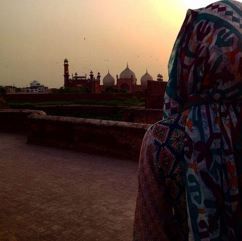 mosque, hijab