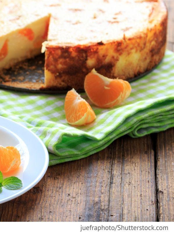 Mandarinenkuchen Mandarinovyj tort - Мандариновый торт - Russische Rezepte