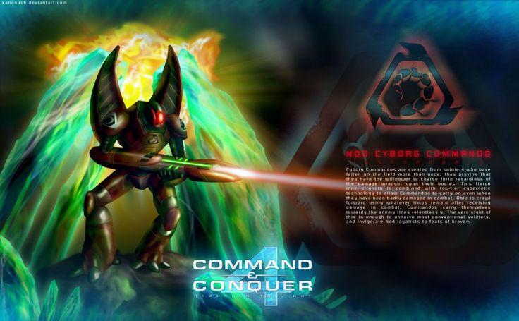 Cyborg Commando HD Wallpaper