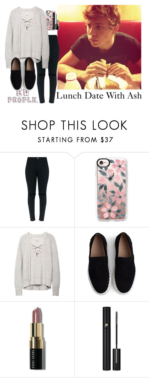 """""""Lunch Date w/ Ashton"""" by eg333 ❤ liked on Polyvore featuring Casetify, Chloé, Bobbi Brown Cosmetics, Lancôme, 5sos and ashtonirwin"""