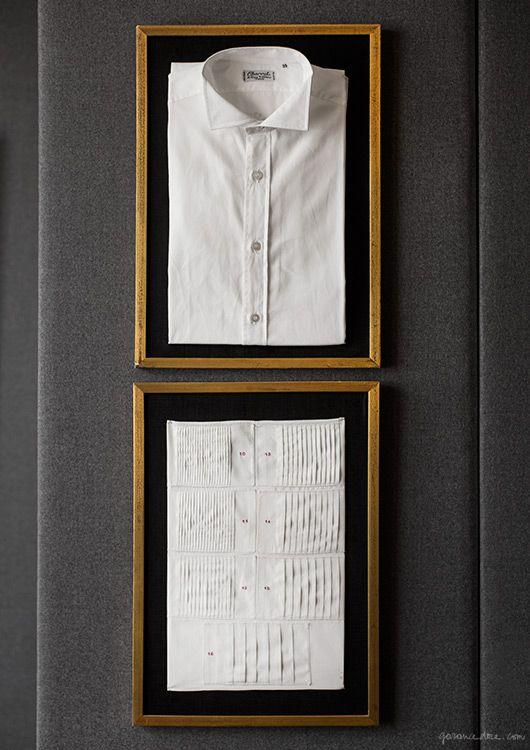 Charvet, Paris, bespoke, store, shirts, scarves, fabric / Garance Doré