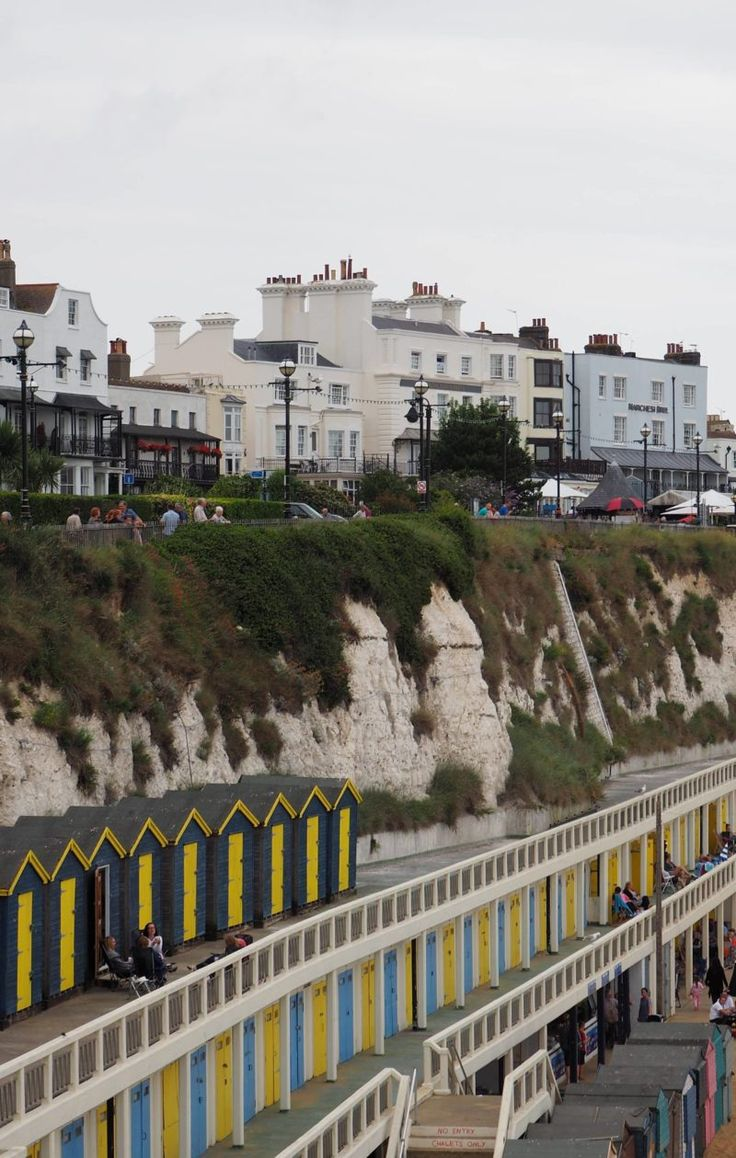 England Travel Inspiration - Fancy a day trip from London to the seaside then why not head on the train to Broadstairs in Kent; Viking Bay is a gorgeous secluded bay for a swim. Charles Dickens called Broadstairs home for a few years and you can now have afternoon tea in his former home which is now a hotel that offers beautiful views to the sea. There are so many wonderful places to visit in the British Isles including Broadstairs, at times you do feel like you're stepping back in time...if…