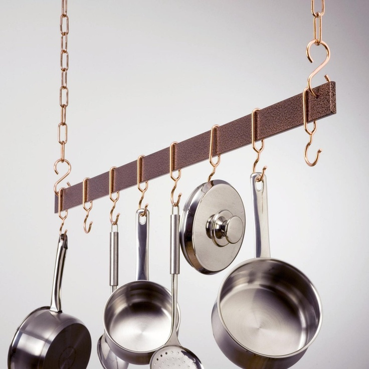Best 25 pot rack hanging ideas on pinterest pot rack for Pot racks for kitchen