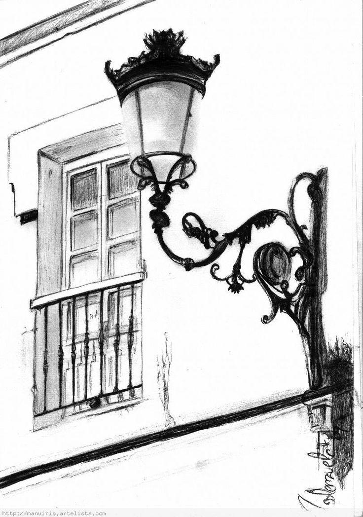 disegni di lampioni da colorare - Cerca con Google  artistica  Pinterest  Search