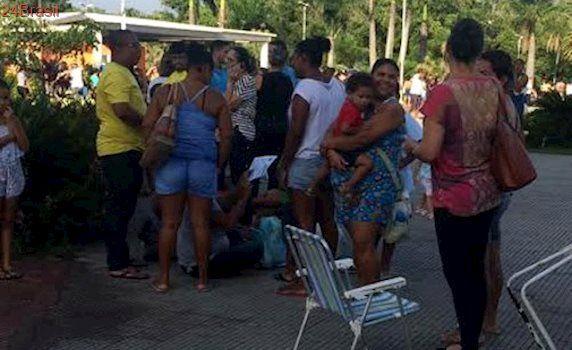 Capixabas lotam parque na Serra para conseguir vacina contra febre amarela