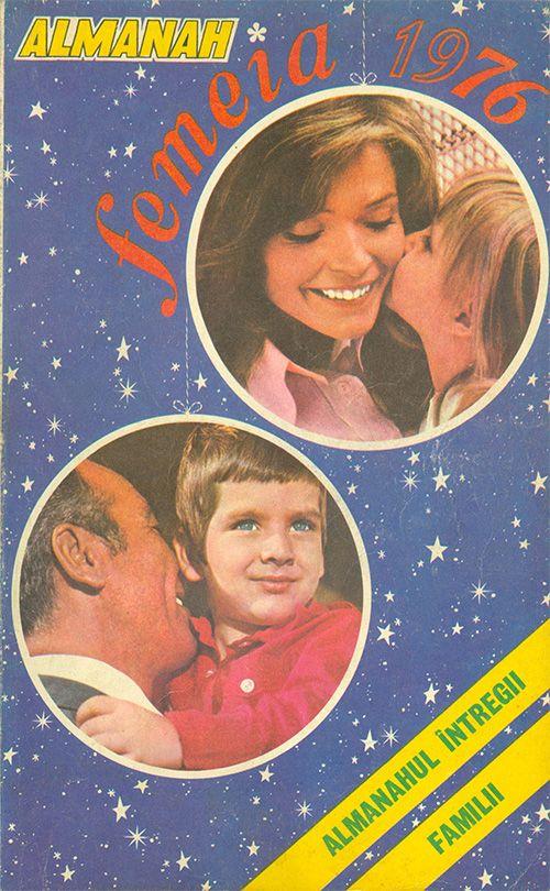 Coperta Almanah Femeia 1976 - #retro #romania #almanac