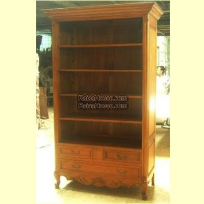 French Open Bookcase 3 Drawers on Base Refrence : RBC 011 Dimension : 107 x 57 x 200 cm Material : #WoodenMahogany Finishing : #Custom Buy this #Bookcase for your #homeluxury, your #hotelproject, your #apartmentproject, your #officeproject or your #cafeproject with #wholesalefurniture price and 100% #exporterfurniture. This #FrenchOpenBookcase3DrawersonBase has a #highquality of #AntiqueFurniture #FurnitureOnline #CustomFurniture #IndonesiaFurniture #IndustrialFurniture #WoodenFurniture