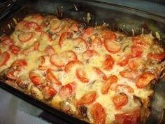 Csirkemáj olasz módra, könnyű de nagyon finom étel!