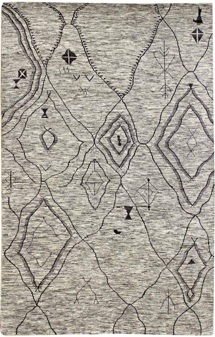 Modern Geometric Pattern Rugs Gallery Palm Modern