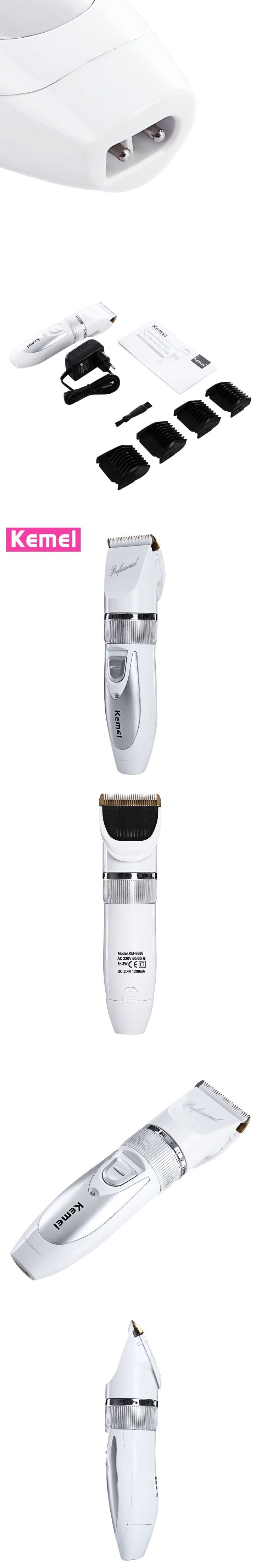 KEMEI-6688 Rechargeable Hair Trimmer Clipper Shaver Cutter Styling Kit for Men Hair Trimmers Hair Cutting Machine Beards #hairtrimmer