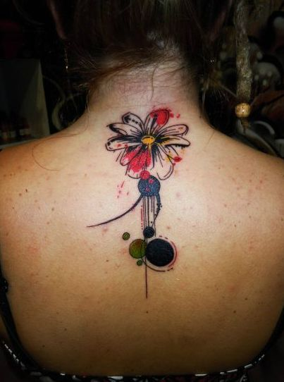 Abstract Flower by Grem Tattoo
